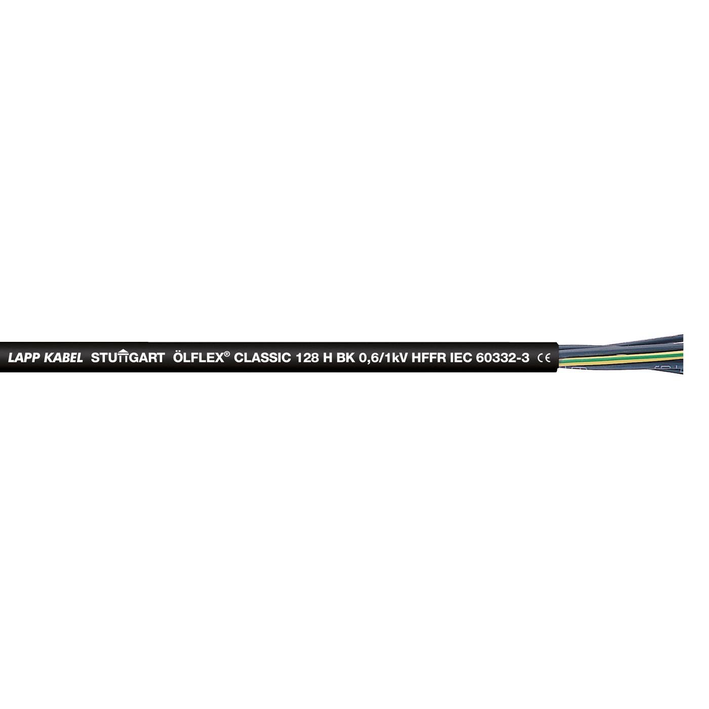 ÖLFLEX® CLASSIC 128 H BK 0,6/1kV