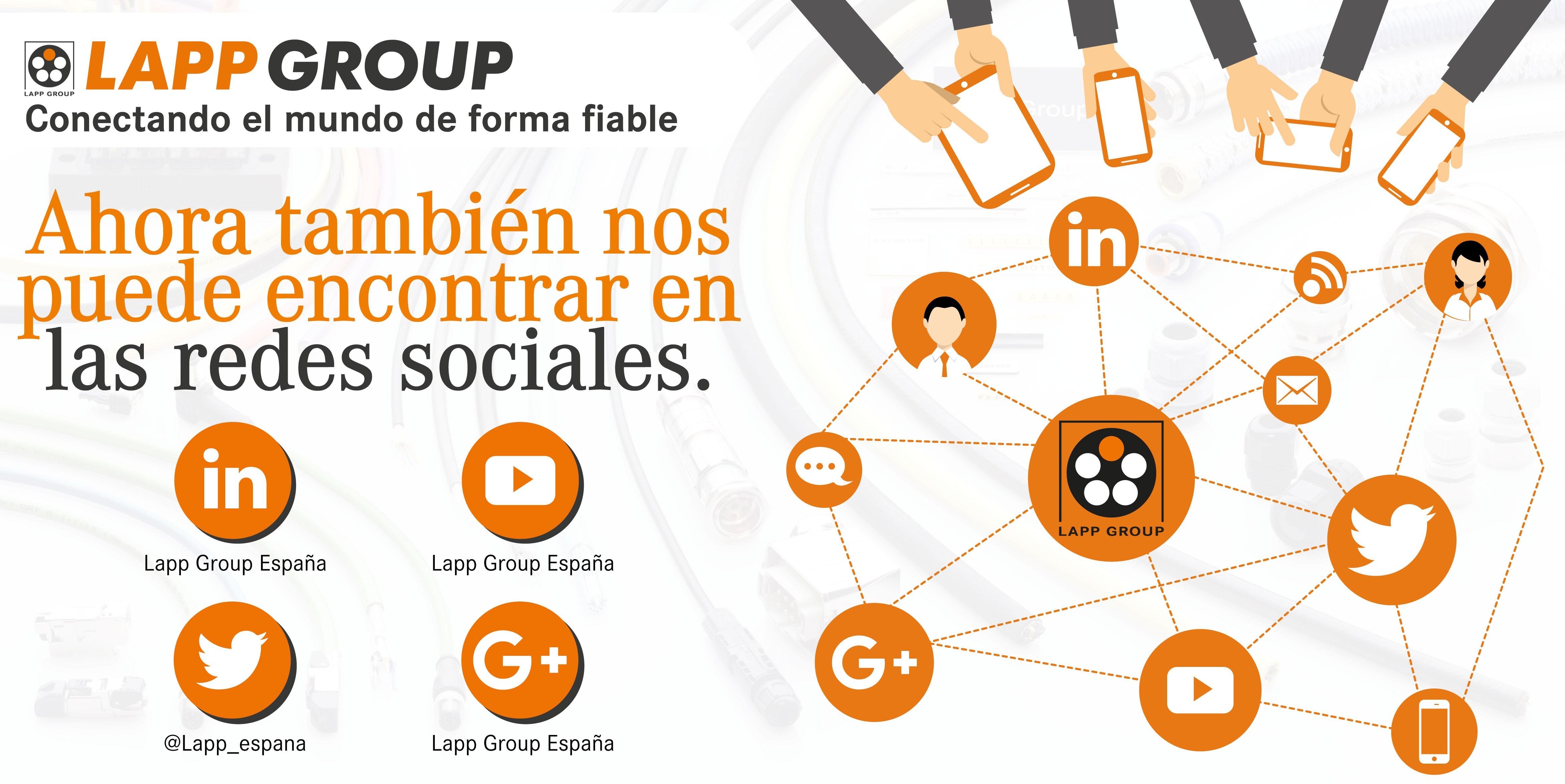 Redes sociales Lapp Group