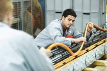 Cable chain assemblies