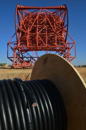 Оптоволоконные кабели для астрономии