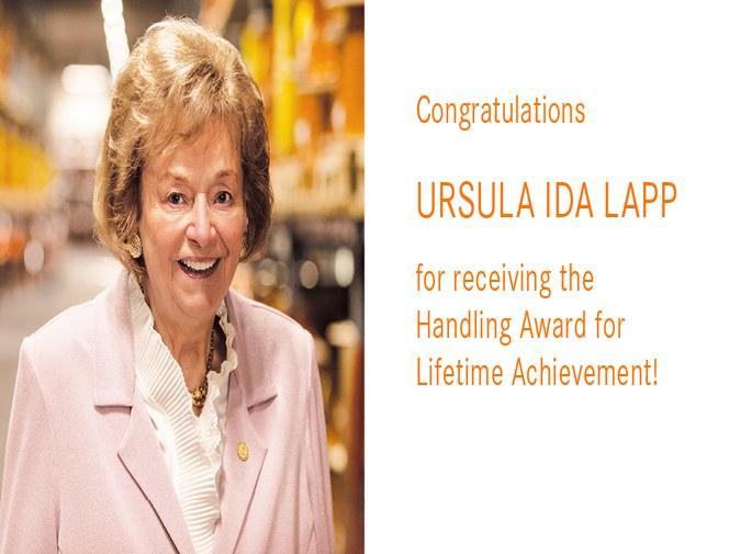 Handling Award for her life's work