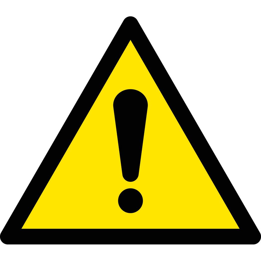 VARNINGSDEKALER (W) EN ISO 7010