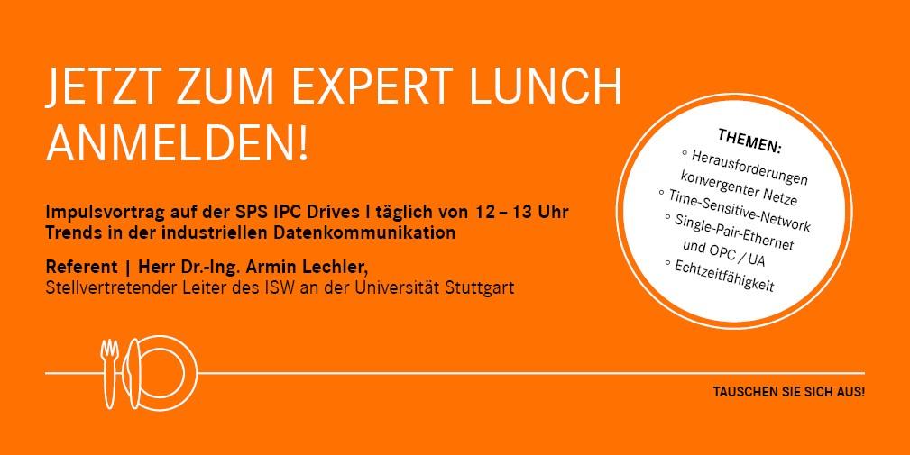 LAPP Buehnb Experten-lunch DE 29-10-2018