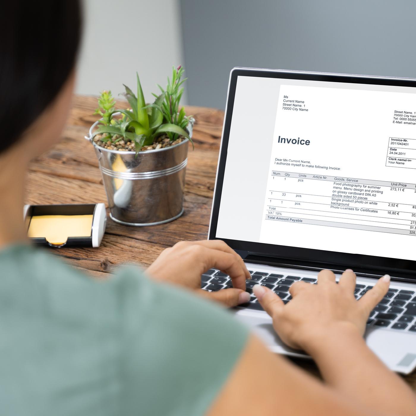 Elektronischer Rechnungsversand