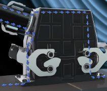 Durch die leitfähige Nickelschicht an der Steckeroberfläche wirkt das Steckergehäuse wie ein faradayscher Käfig.