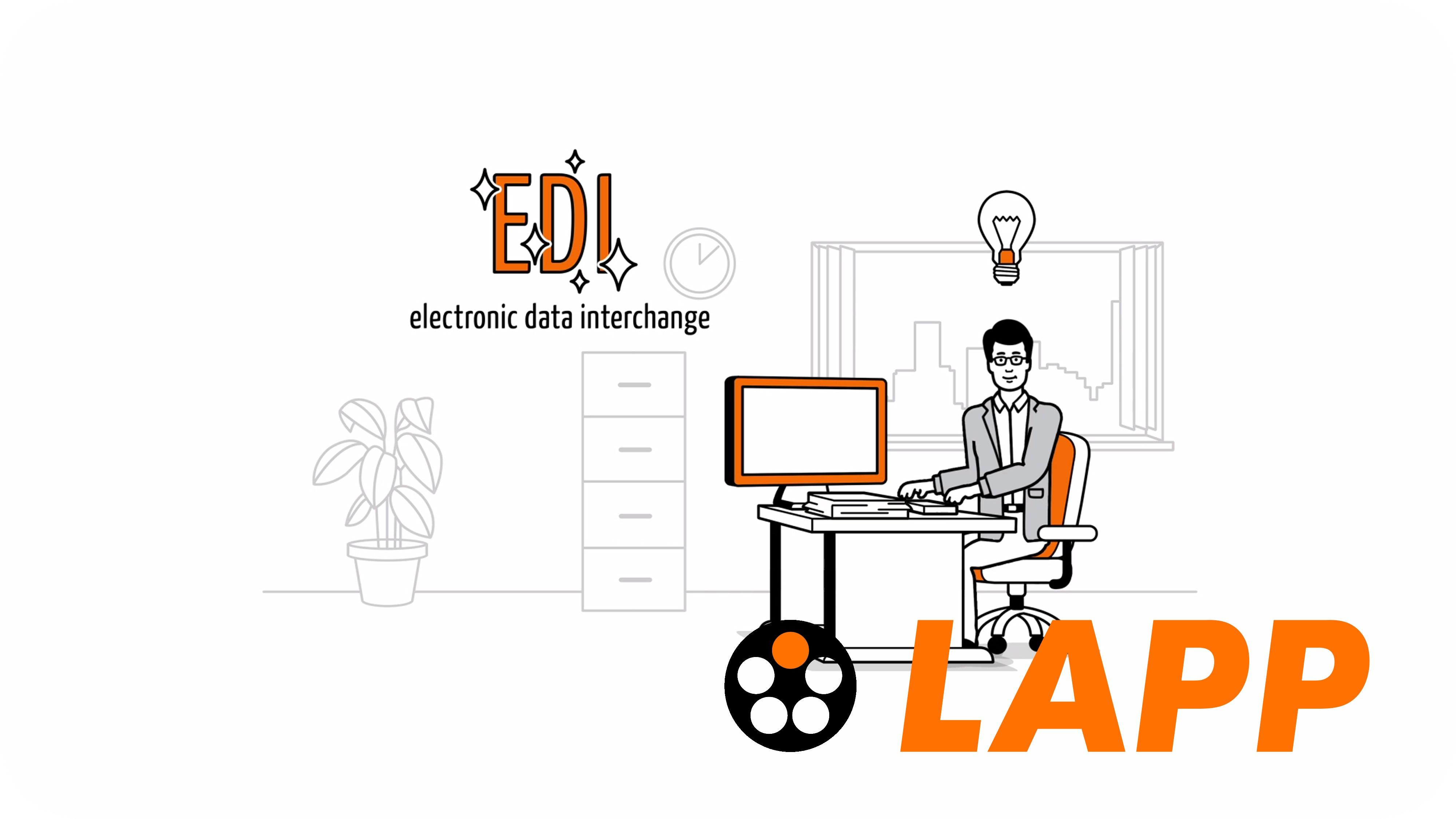 EDI Simpleshow Bild zu Clip