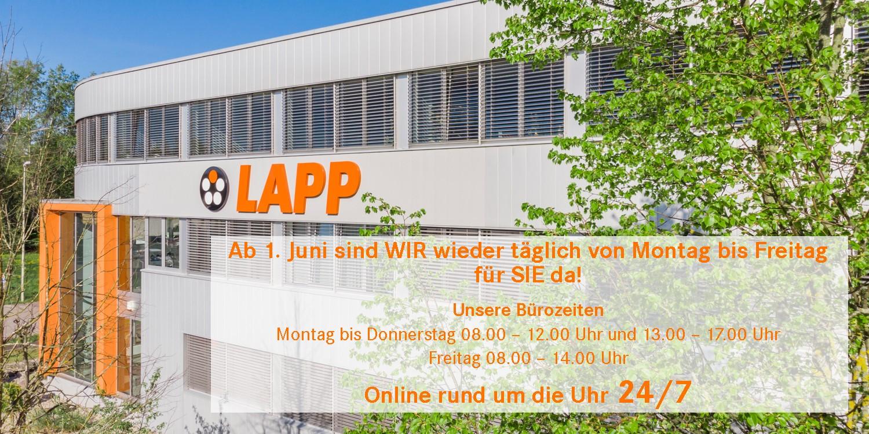 LAPP Web neue B%C3%BCrozeiten Juni final