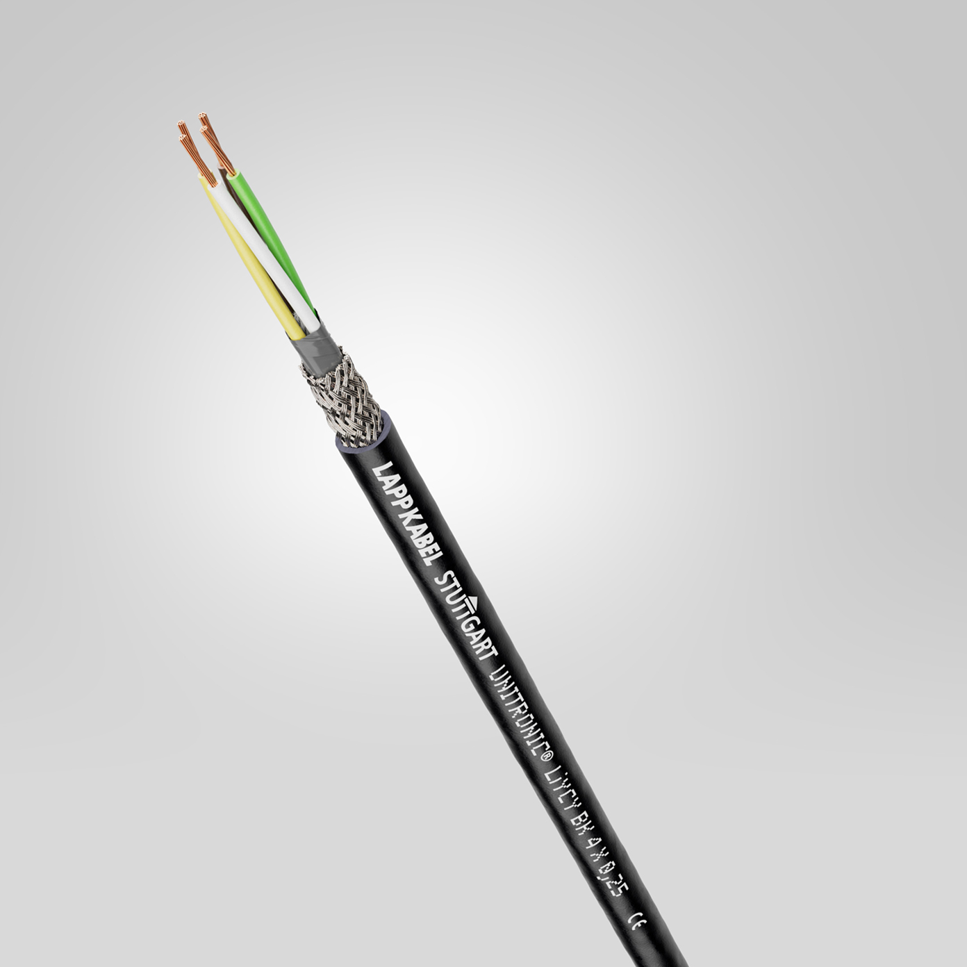 Cables de datos de baja frecuencia para uso en exteriores