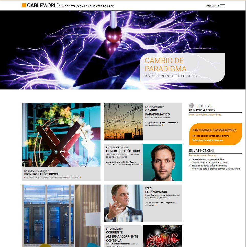 Cableworld - Cambio de paradigma (Edición 15)