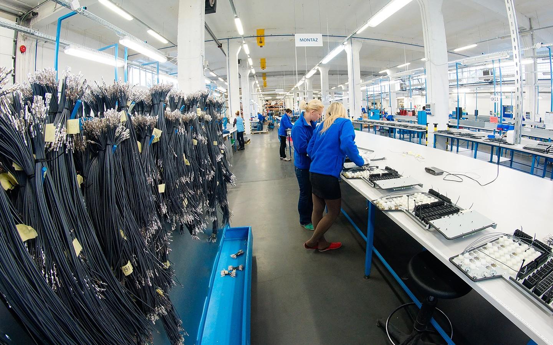 Tuotantoa Puolassa