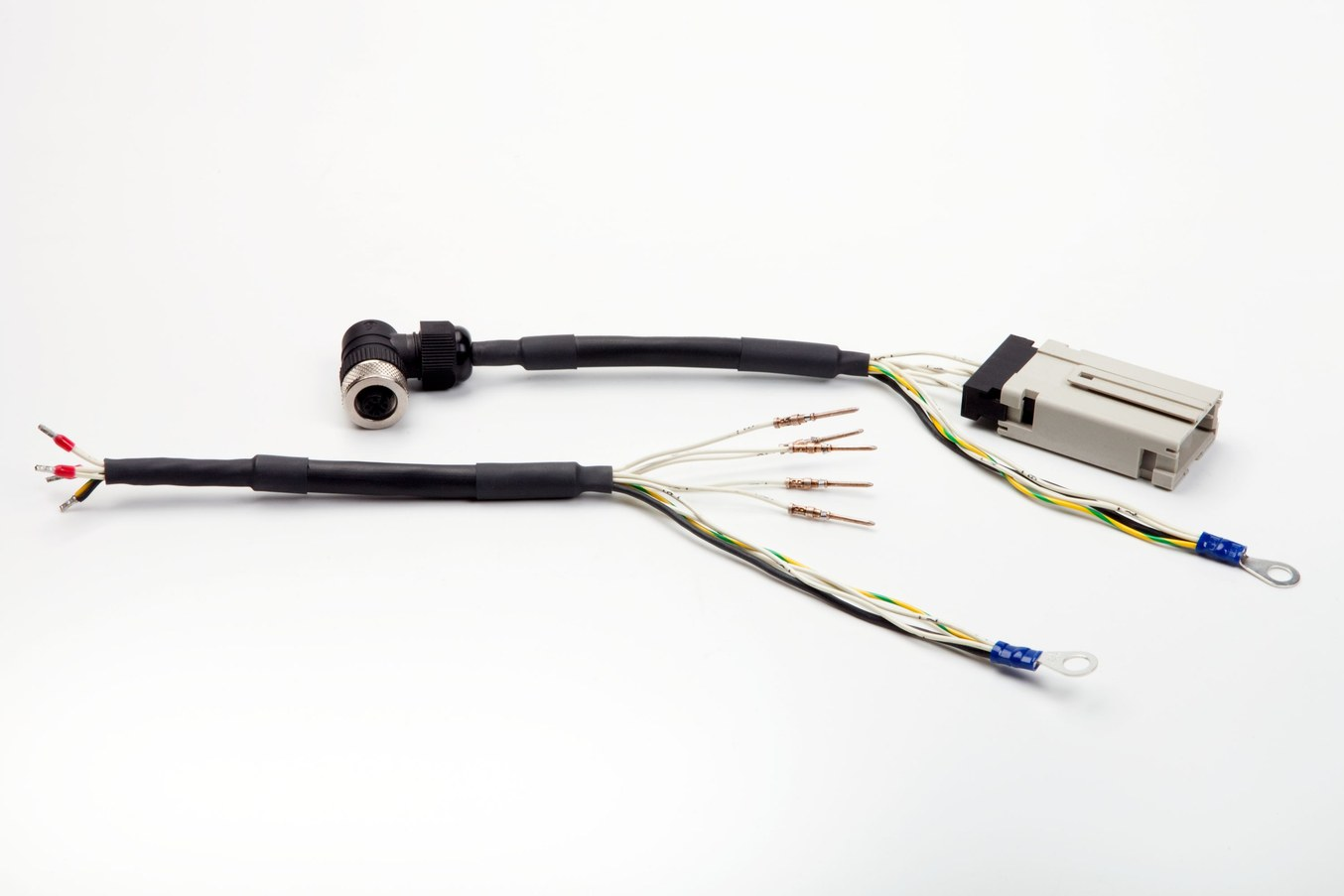 cable avec tube thermoretractable