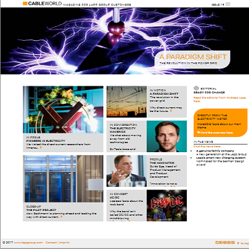 CABLE WORLD online magazine  - Latest issue