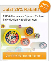 Lapp Aktion: 25% Rabattaktion