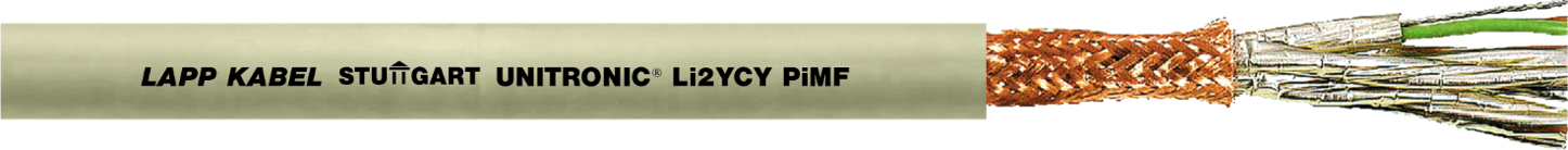 UNITRONIC® Li2YCY PiMF