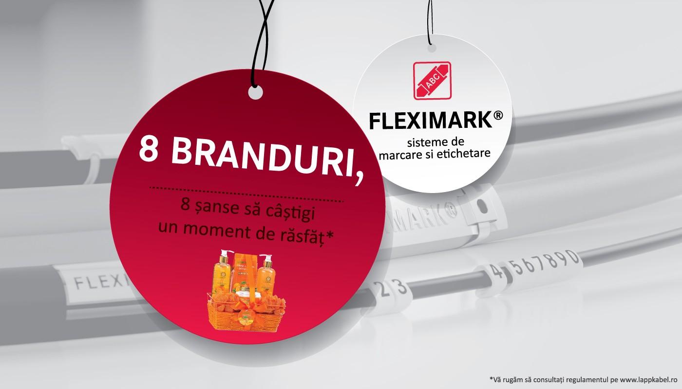 etichete pentru cabluri Fleximark