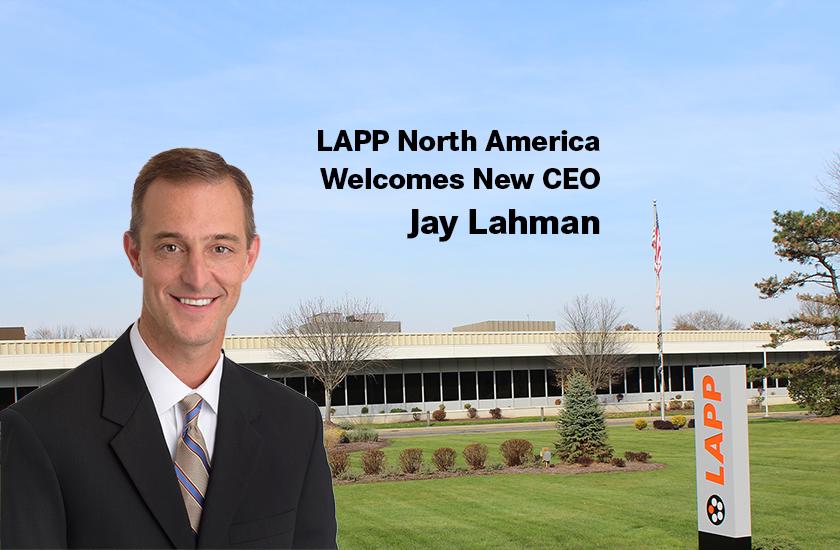 Jay Lahman new CEO