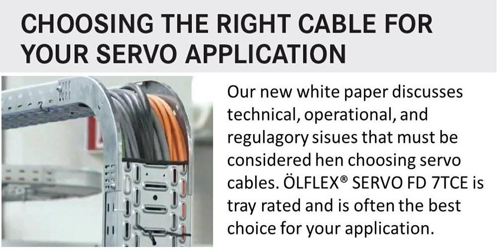 Servo cable white paper June 2019