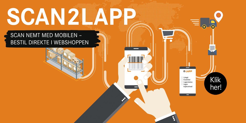 scan2lapp startpage DK-KNAP