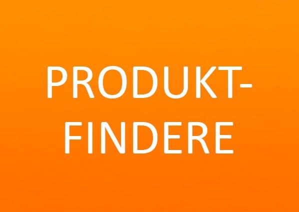 Produktfindere orange baggrund