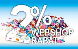 Få 2% webshop rabat ved at handle online på LAPPs webshop