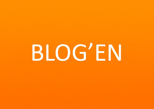 Blog orange baggrund