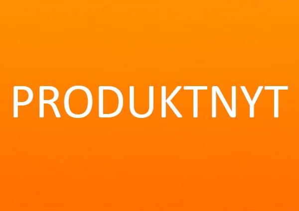 Produktnyt orange baggrund