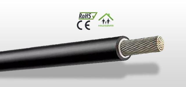 BETATRANS® 4 GKW-AX PLUS Dobbelisolert og halogenfri enleder lagerføres opptil 300mm2 for rask levering.