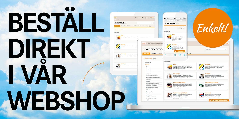 Miltr Responsiva-webben startsida webshop 1440x720