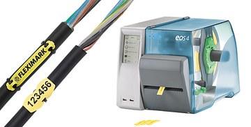 Märksystem för märkning av kabel, ledare och komponenter