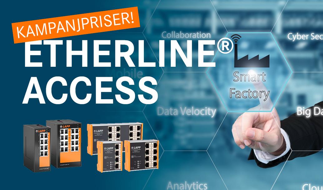 Industriella nätverk - pålitliga och robusta switchar för industriella datanätverk