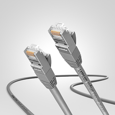 ETHERLINE LAN Cat.6A 0,5 GY