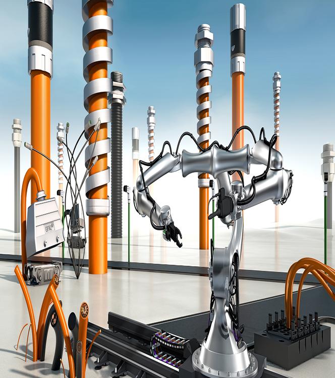 Robotica oplossingen van LAPP