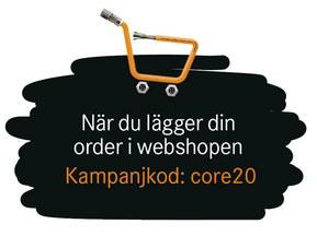 Använd kampanjkod core20 när du lägger din beställning!