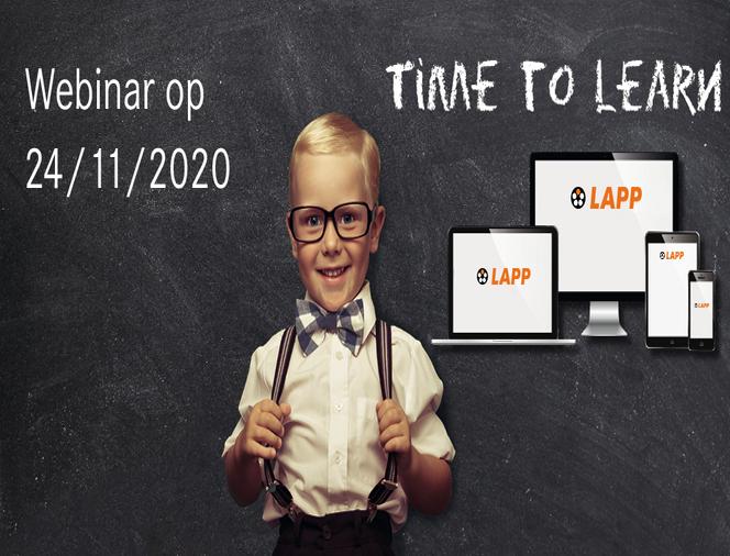 Banner Webinar ''Nieuwer producten 2020'' LAPP