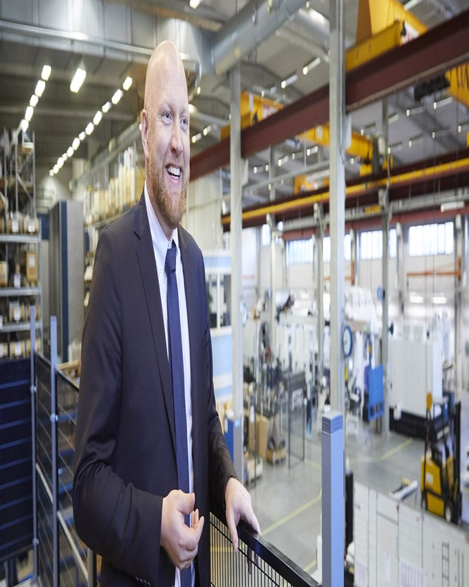 Дэвид Модиг руководит заводом Modig Machine Tool с 2011 года.