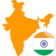 India 300x300 Flag