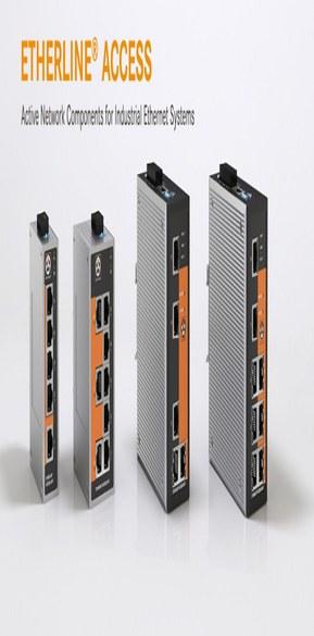 Switch de retele industriale pentru solutii Ethernet care au la baza conceptul de Smart Factory.