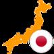 Japan 300x300 Flag
