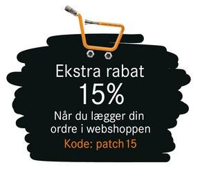 Patch kabel 15% webshop rabat