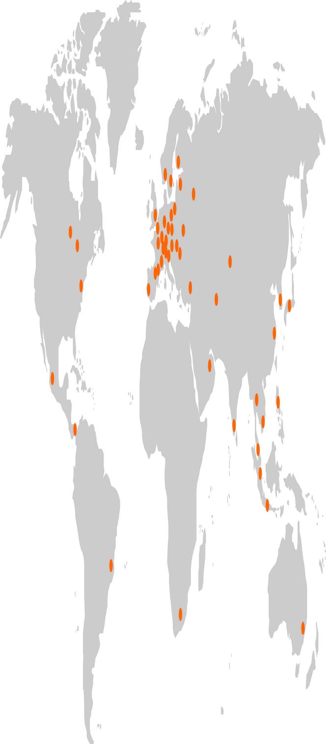 2021 Standortkarte