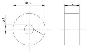 Tegning SKINTOP® DIX-M CUT