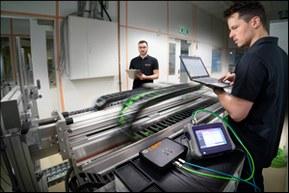 Prediktivní údržba je důležitá např. u flexibilních kabelů ve vlečných řetězech