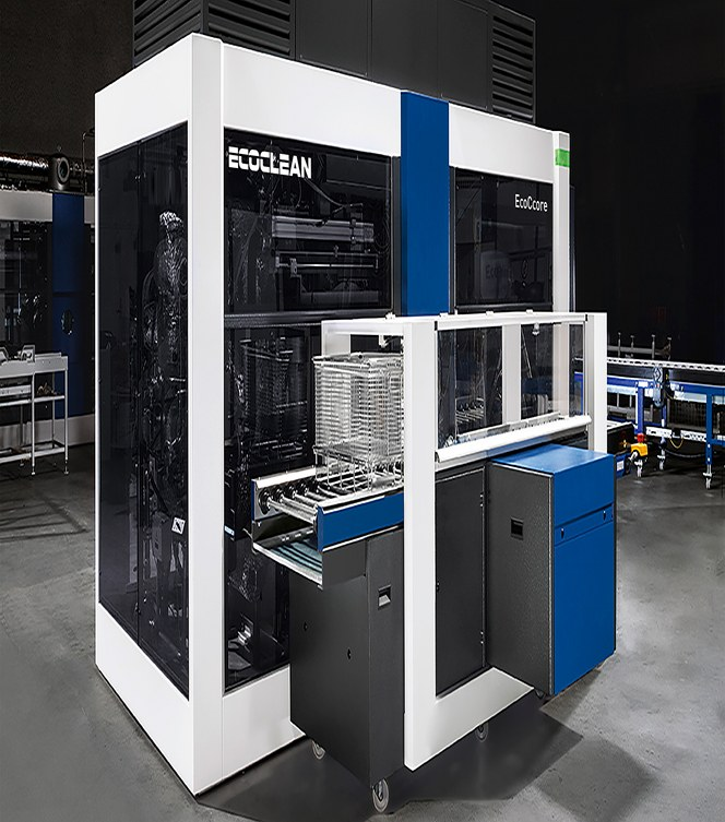 Maskinbyggaren Ecoclean erbjuder fjärrservice med hjälp av TOSIBOX®