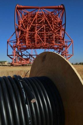 Оптоволоконные кабели LAPP для телескопа в Намибии