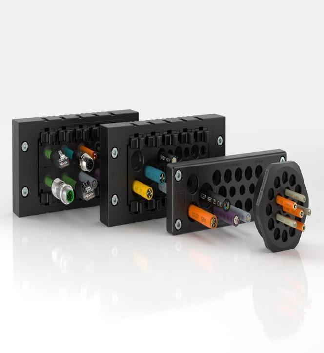 Obdélníkový vícenásobný průchodkový systém SKINTOP® MULTI je nyní k dispozici také v kulatém designu