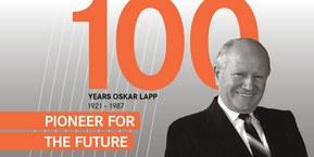 100 Gadi Oskar Lapp: Nākotnes aizsācējs