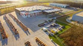 Nové logistické centrum v Polsku