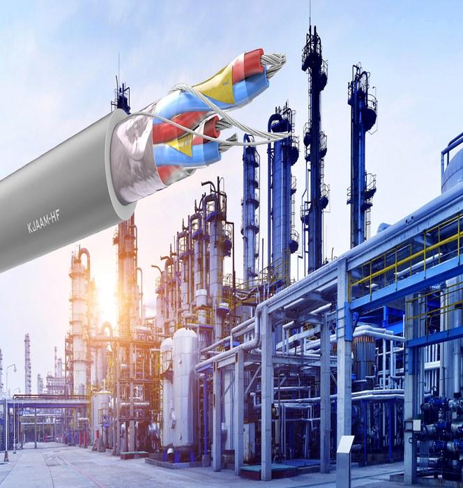 KJAAM-HF – Halogenfri instrumentkabel för tuffa EMC-miljöer
