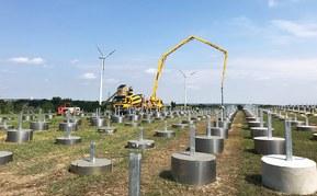 Österrikes största solcellspark