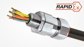PX2KREX – barriereforskruning Ex d/Ex e/Ex nR/Ex ta med tætningsmasse til alle typer af skærmet eller armeret kabel
